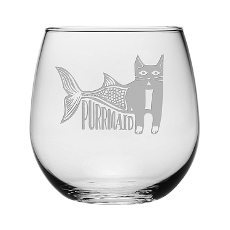 Purmaid Stemless Wine Glasses (Set Of 4)