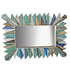 Rectangle Sunburst Mirror