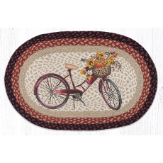 Red Bicycle Rug