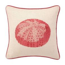 Red Sea Urrchin Embroidered Pillow