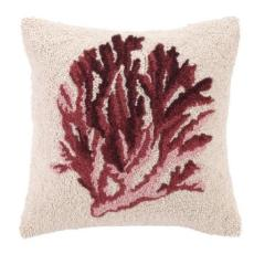 Red Coral I Hook Pillow