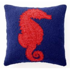 Red Sea Horse  Hook Pillow