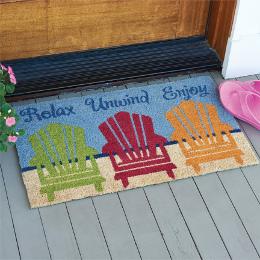 Relax Unwind Enjoy Doormat