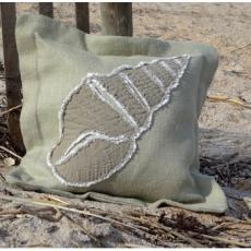Spindle Shell Sea Pillow