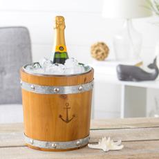 Rustic Anchor Ice Bucket