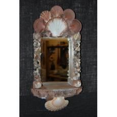 Rust Niche Shell Mirror