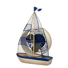 Sailboat Figurine Fan
