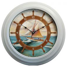Sailing Metal Clock