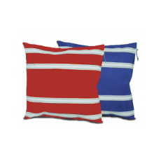 Sailcloth Stripped Pillow With Insert, Personalized