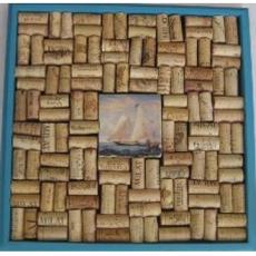 SailBoat Tile Cork Board Craft Kit