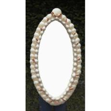 Oval Salone Shell Mirror