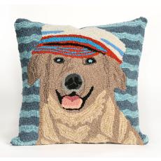 Salty Dogs Golden Pillow