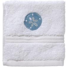 "Sand Dollar Terry Towel 20""x 35"" Set of 2"