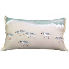 Sand Pipers Sprint Lumbar Pillow