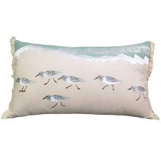 Sand Pipers Sprint Lumbar Pillow