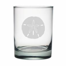 Sand Dollar Etched DOR Glass Set