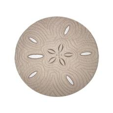 Sand Dollar Shaped  Placemat S/4