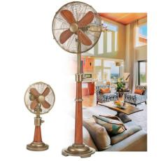 Savery Table and Floor Fan