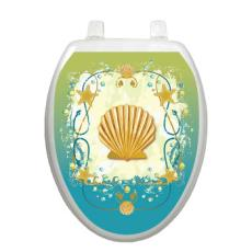 Shell Game Toilet Seat Decoration