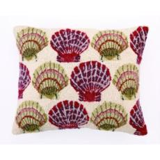 Scallop On The Beach Hook Pillow