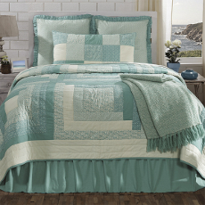 Sea Glass Coastal Bedding