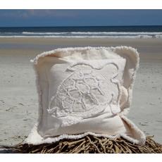 Sea Turtle Canvas Sea Pillow