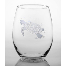 Sea Turtle Red Wine Tumbler (21oz) set of 4