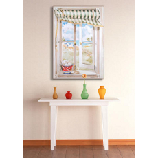 Seascape Faux Window Wall Art