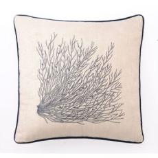 Sea Grass Emb Pillow 20X20""