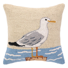 Seagull Hook Pillow
