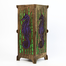 "Seahorse 16"" Table Lamp"