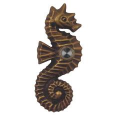 Seahorse Brass Doorbell