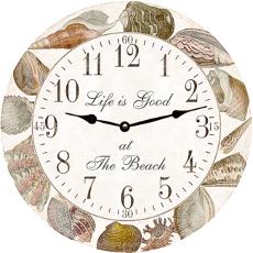 Seashell Collection Clock