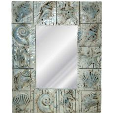 Coastal Seashell Mirror