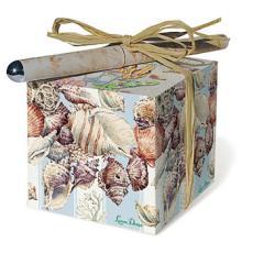 Seashell Paper Block Gift Set