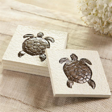 Sea Turtle Coasters S/4
