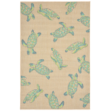 Seaturtles Cool Indoor Outdoor Rug