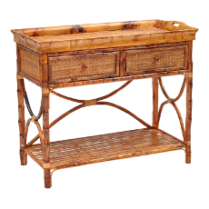 English Serving Console Table