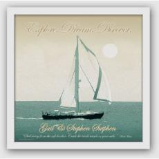 Personalized Set Sail Print