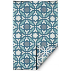 Seville Multicolor Blue Indoor Outdoor Rug
