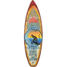 Surfboard Wall Art - Sharkies