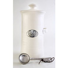 Shell Coffee Canister