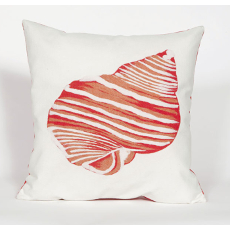 Shell Coral Indoor Outdoor Pillow