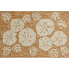 Shell Toss Natural Indoor Outdoor Rug