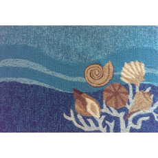 Shells and White Coral Indoor/Outdoor Rug