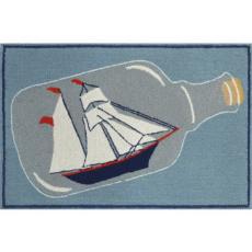 Ship in the Bottle Indoor/ Outdoor Rug