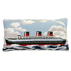 Normandie Needlepont Pillow