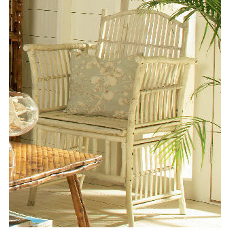 Coastal Bamboo Side Chair