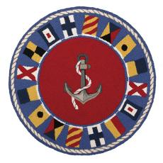 Signal Flags Hook Rug