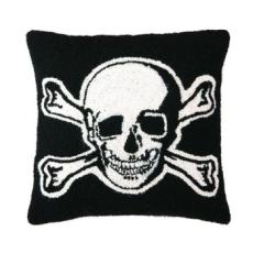 Skull & Cross Bones Hook Pillow